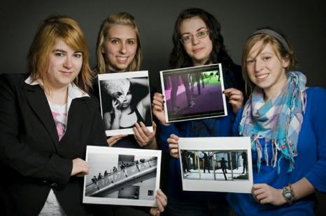 4 étudiants en photographie finaliste