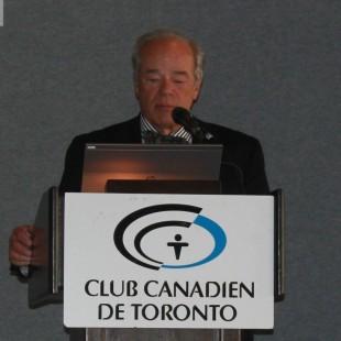 Déjeuner du Club canadien de Toronto : Allocution de Pierre Delagrave, président de Media Vision 7 International