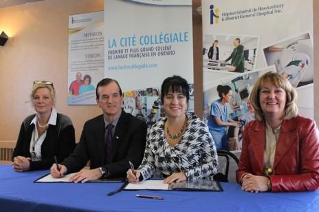 L'Hôpital Général de Hawkesbury devient un site d'enseignement affilié de La Cité collégiale