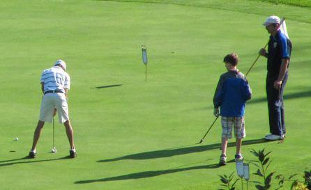 En français sur les verts pour le Tournoi de golf Franco-ontarien!
