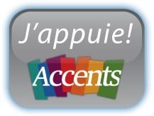 Logo J'appuie Accents