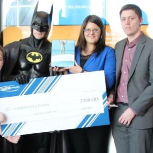 Une nuit à Gotham : 2 400 $ pour la Fondation Rêves d'enfants
