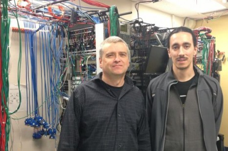 Une visite de Frédéric Michaud,  gestionnaire de plus de 300 appareils réseau