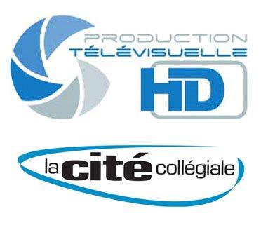 logo production télévisuelle HD La Cité collégiale