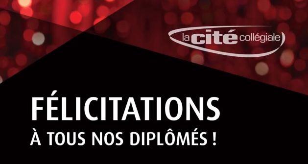 Félicitation à tous nos diplômés