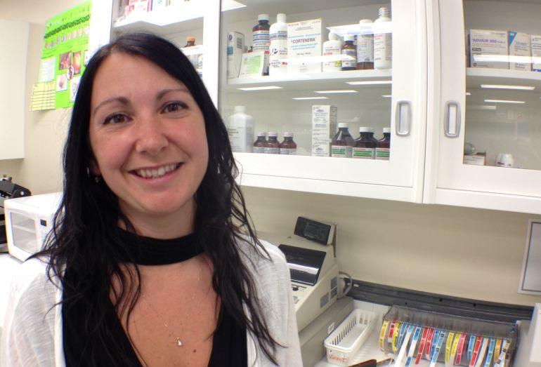 Claudia Fortier la cité collégiale Techniques pharmaceutiques