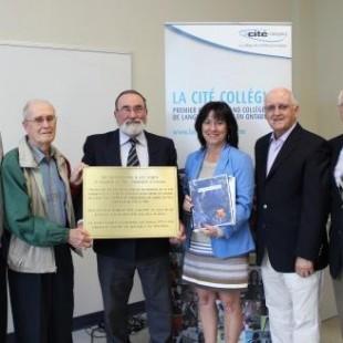 Nouveau look pour la plaque historique du Petit Séminaire d'Ottawa