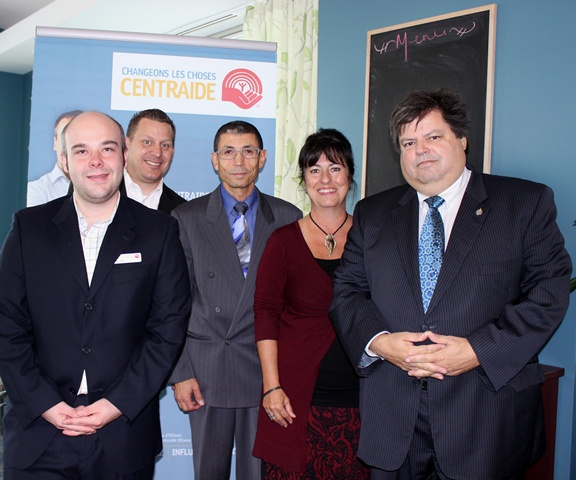 Lancement de la campagne Centraide au restaurant-école Les Jardins de La Cité