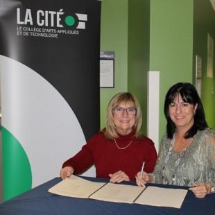 Protocole renouvelé entre La Cité et sa Fondation