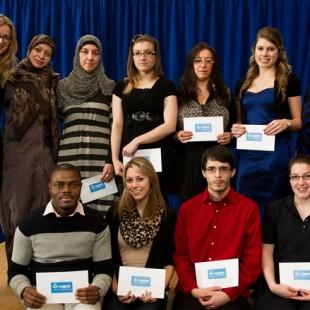 13 février 2014 : Cérémonie annuelle de remise des bourses de la Fondation