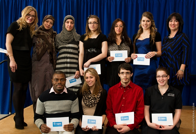 Lauréats de la cérémonie de la remise de bourses de la Fondation de La Cité