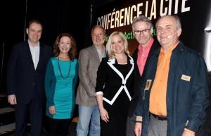 Les conférenciers pour les conférences Inspiration-Action-Réussite à La Cité