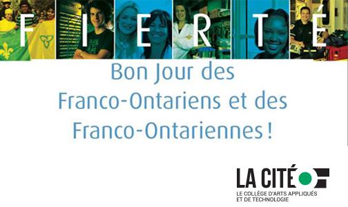 Fierté, bon Jour des Franco-Ontariens et des Franco-Ontariennes