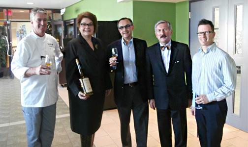 Vincent Boulard avec Philippe Dartois, Lyne Michaud, Wayne Murphy et Sébastien Rangé