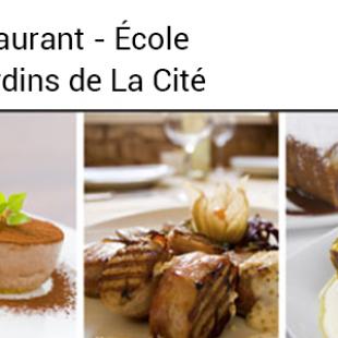 Soirée gastronomique du 19 septembre – Le Restaurant – École, Les Jardins de La Cité