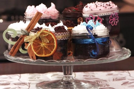 Desserts en bocaux originaux pour l'Action de grâces