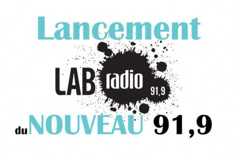 Lab Radio maintenant diffusé sur le 91.9 FM