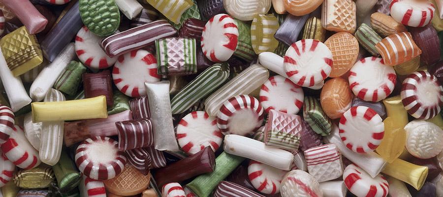 une multitude de bonbons