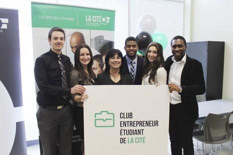 La Cité favorise l'esprit d'entreprise chez les jeunes