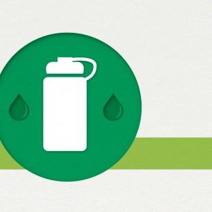 Utilisez une bouteille d'eau réutilisable