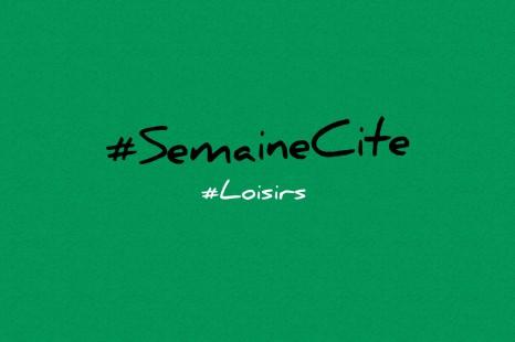 #SemaineCite Techniques des services en loisirs