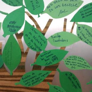 On souligne le Jour de la Terre à La Cité