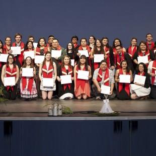 Les étudiants de descendance autochtone à l'honneur