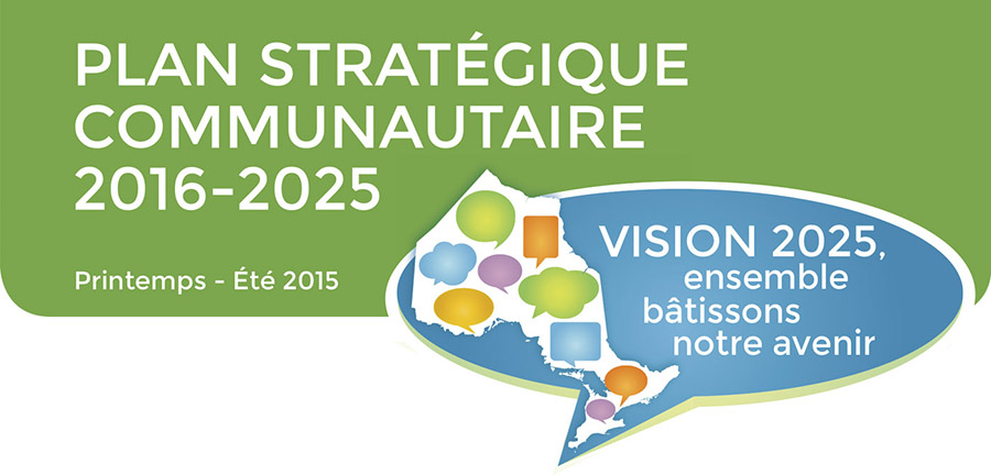 Plan stratégique communautaire Vision 2025