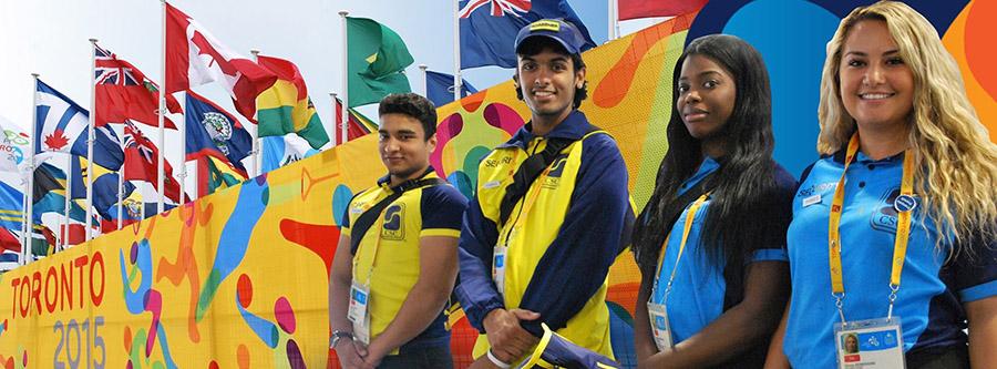 Les Jeux panaméricains 2015 à Toronto