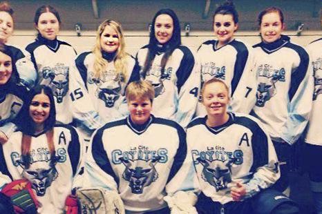 Filles recherchées pour l'équipe de hockey féminin de La Cité