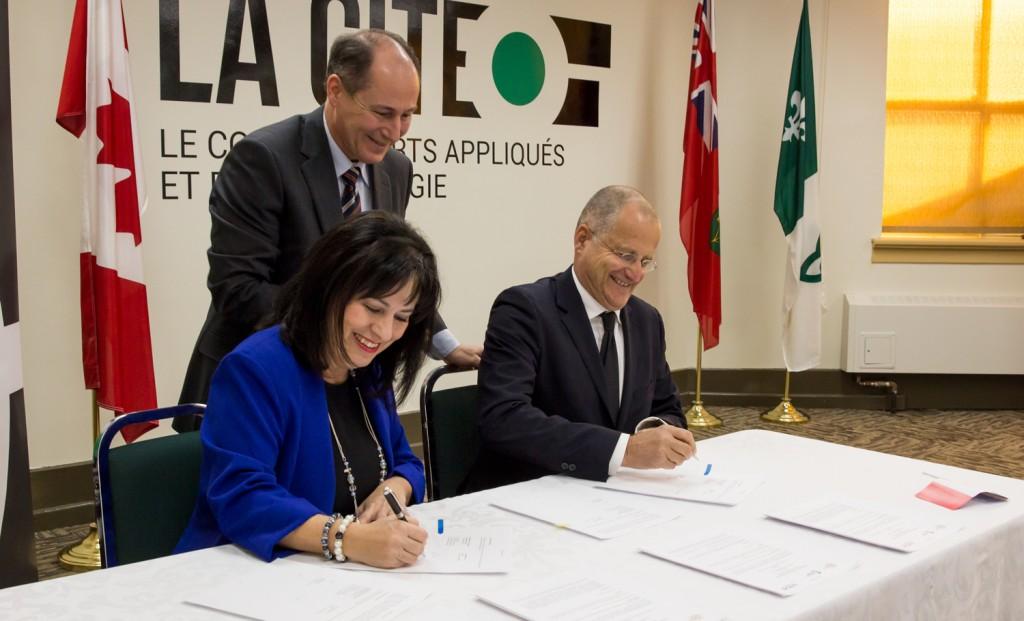 accord de coopération conclu entre La Cité et l'Université Claude Bernard Lyon 1