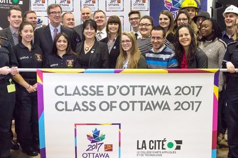 Ottawa 2017 et La Cité collaborent afin de préparer la capitale pour les célébrations du 150e anniversaire du Canada