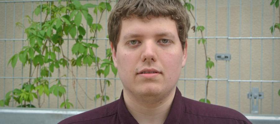 Éric Drouin, étudiant en Technologie de l'information – sécurité informatique à La Cité