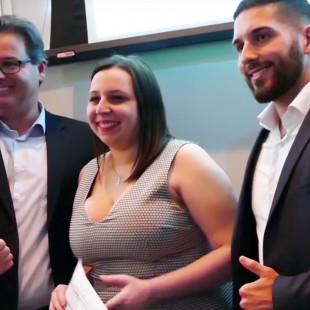 Construction MCL remet sept prix aux étudiants