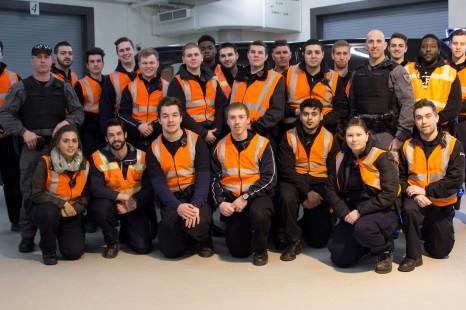 L'équipe tactique du Service de police d'Ottawa de passage à La Cité