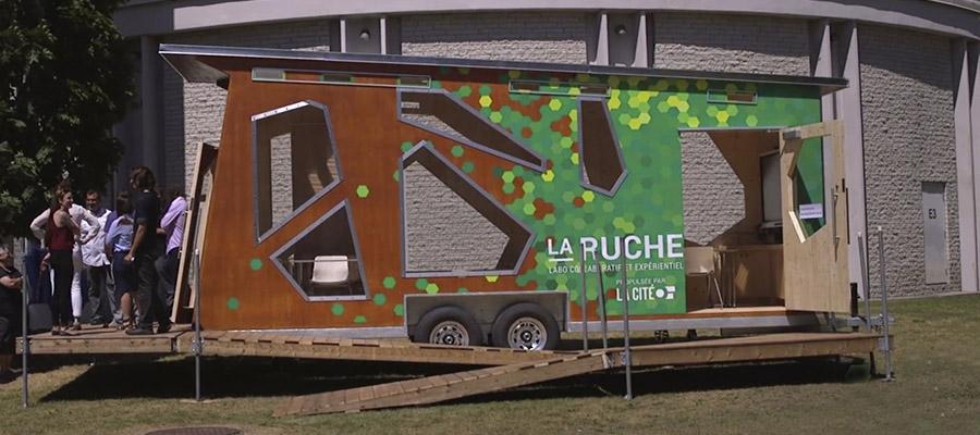 La Ruche - Labo Collaboratif et Expérientiel, propulsée par La Cité