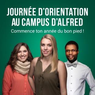 Journée d'orientation au campus d'Alfred