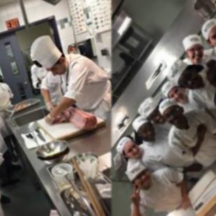 Arts culinaires : Un programme à découvrir vêtue d'un tablier et d'un filet pour cheveux