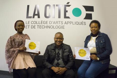 Trois étudiants de La Cité à Toronto obtiennent une bourse d'études