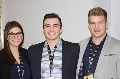Des étudiants en Administration des affaires représentent La Cité à la compétition Hermès.
