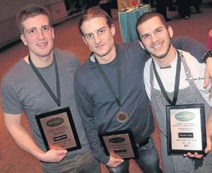 Compétition culinaire : Deux diplômés de La Cité sur le podium