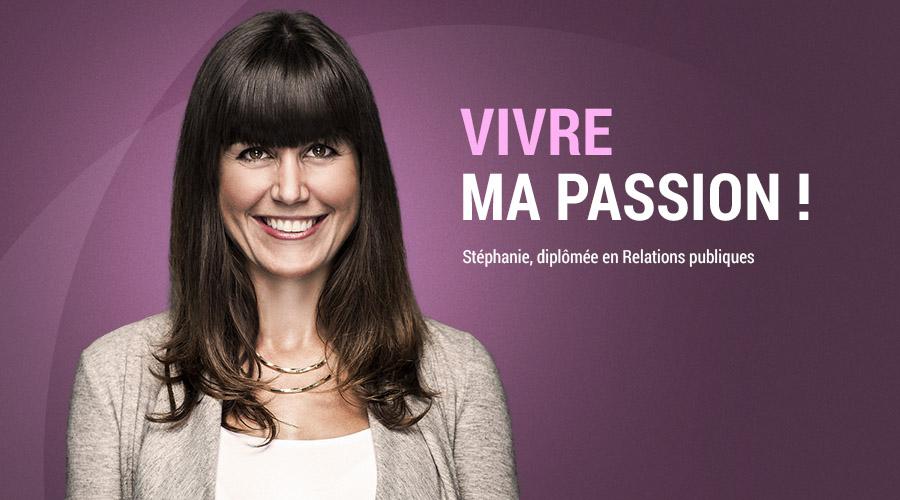 Stéphanie Dumoulin : Diplômée – Relations publiques