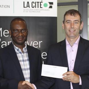 Lauréat de la Bourse d'excellence Michel Bertrand – Financière Banque Nationale