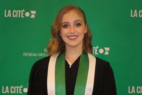 Portrait d'une étudiante – Marianne Cossette-Fortin