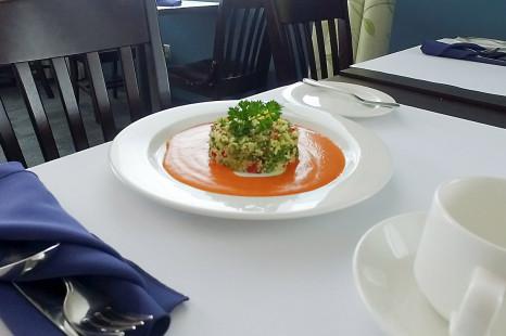 Réalisez la recette de salade style taboulé de La Cité en quelques étapes faciles