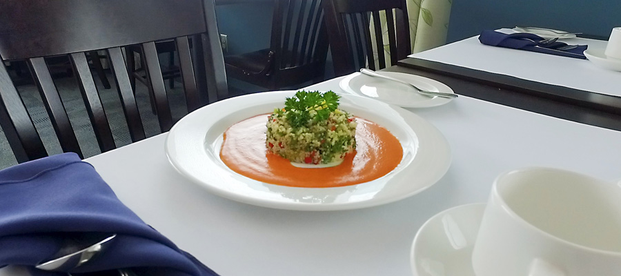 Salade style taboulé