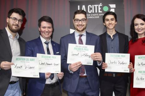 Cinq étudiants du programme de Journalisme récompensés lors de la soirée Reportages vidéastes 2018!