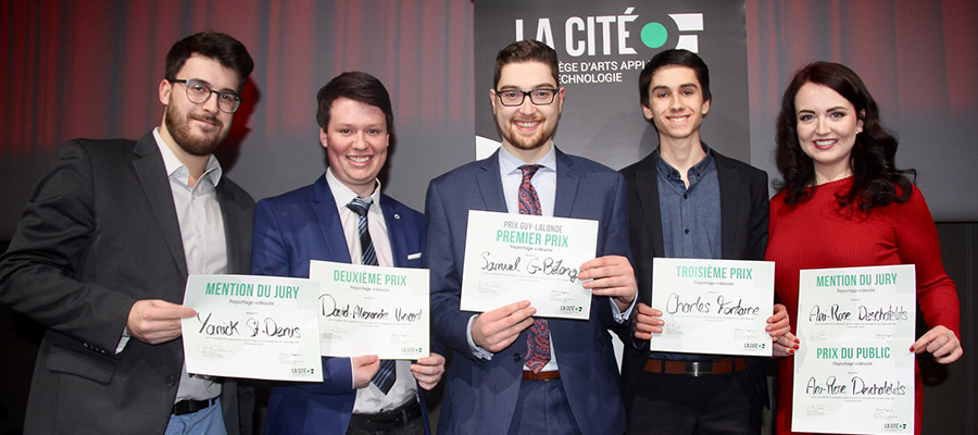 Photo des gagnants