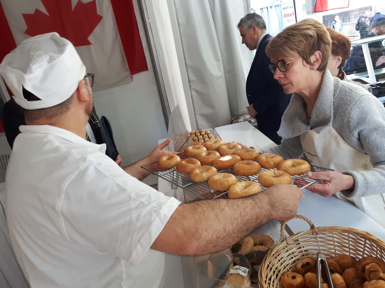 Les produits cuisinés par les étudiants et vendus lors de la Fête du pain sont variés.